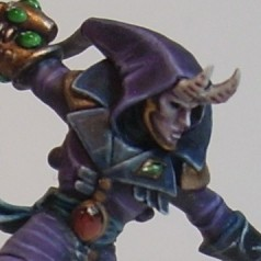 Painting Diary – Harlequin Solitaire